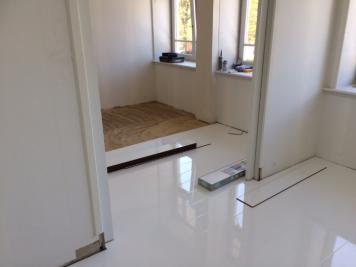 1 Project PVC en laminaatvloer Noordwijkerhout