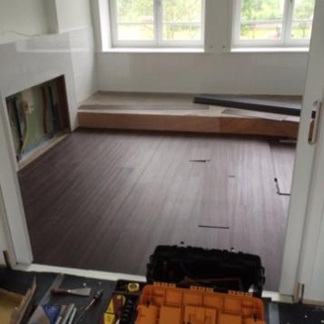 2 Project PVC en laminaatvloer Noordwijkerhout
