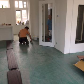7 Project PVC en laminaatvloer Noordwijkerhout