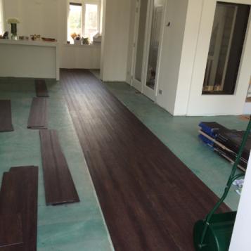 8 Project PVC en laminaatvloer Noordwijkerhout
