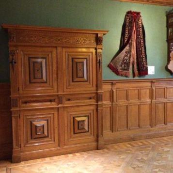 Museum de zwarte Tulp Lisse, Vloer reinigen en opnieuw in de was zetten F2