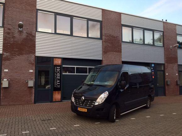 Showroom voorzijde vennestraat lisse hobeau parket laminaat pvc