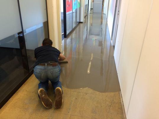 egaliseren van pvc vloeren hobeau parket deur en interieur 2